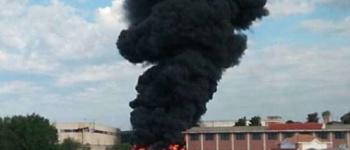 Pomezia, Incendio Eco X, arrivano le analisi di Arpa Lazio sulla centralina di piazza Indipendenza: non c'è diossina nell'aria