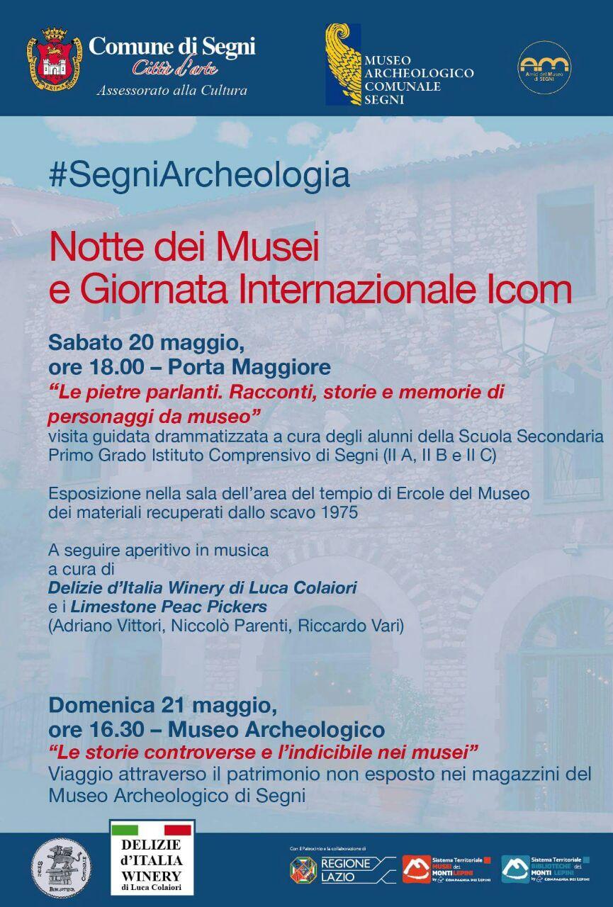 Notte dei Musei, anche il museo di Segni partecipa: il programma