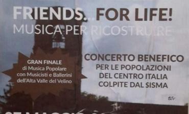 """Colleferro, concerto benefico per i terremotati: """"Friends for life... musica per ricostruire"""""""
