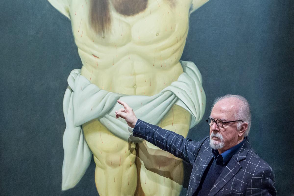Fernando Botero e il Cristo Crocifisso