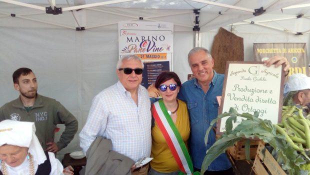 Albano Laziale: il Sindaco Marini e l'Assessore Di Matteo presenti all'Appia Day di domenica 14 maggio