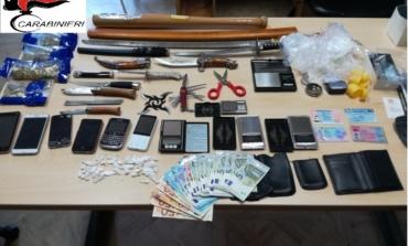 Frosinone, lotta allo spaccio: tre persone arrestate dai Carabinieri