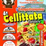 Lariano, Cellittata larianese 2017: il programma della IV Festa dell'Enogastronomia che si terrà dal 29 giugno al 2 luglio