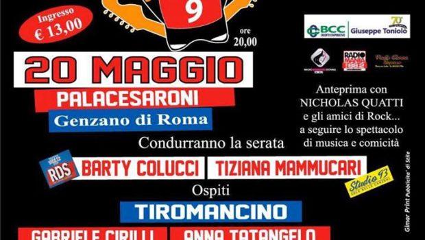 """Genzano, sabato 20 maggio al PalaCesaroni lo spettacolo di beneficenza """"Rock per un bambino"""""""