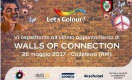 """Colleferro, tutto pronto per """"Let's colour walls of connection"""": i colori del mondo protagonisti nel segno della fratellanza"""