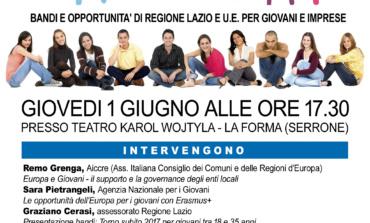 Serrone, 20 unità di servizio civile nazionale per incrementare turismo, cultura e sociale