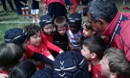 """Rugby Frascati Union, i minirugbysti si divertono a Perugia. Toccacieli: """"Giornata speciale"""""""