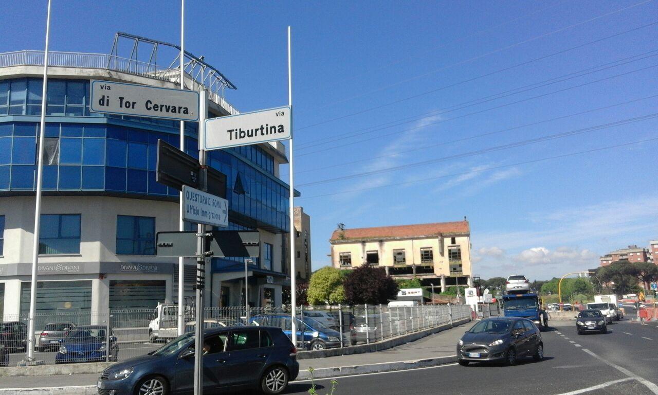 Roma, Tor Cervara: in corso le operazioni di sgombero degli immobili siti in via Tallone e via Raffaele Costi