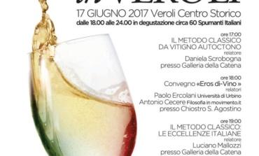 """Veroli, sabato 17 giugno l'importante evento """"Bollicine in Veroli"""""""