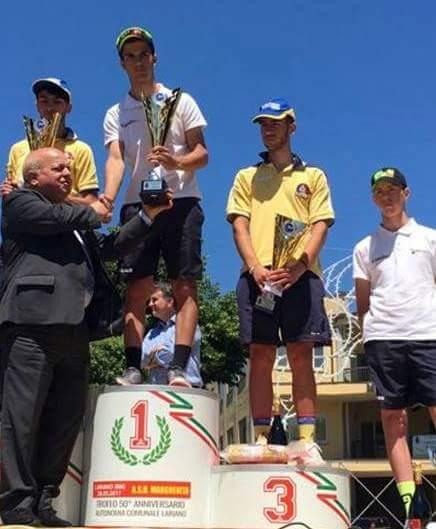 La Velosport di Ferentino domina a Lariano: Spaziani vince in solitaria
