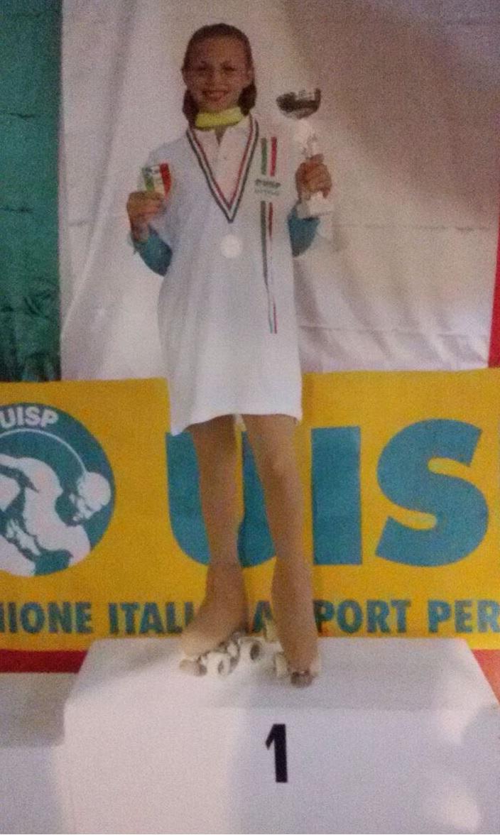 Asd Frascati Skating Club (pattinaggio), Buri campionessa d'Italia negli Allievi solo dance