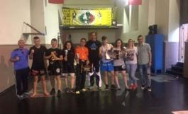 As Kick Boxing Castelli Romani, tre primi posti per gli atleti veliterni del maestro Tommaso D'Adamo nei campionati italiani 2017 Wtka a Rimini