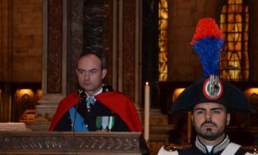 Frosinone, la cerimonia per i 203 anni di vita della Benemerita