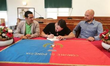 Pomezia, Eccellenze del territorio: il Sindaco incontra il giovane scrittore Tommaso Fusari