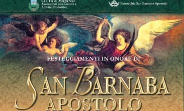 Marino, arrivano i festeggiamenti per il santo patrono san Barnaba apostolo