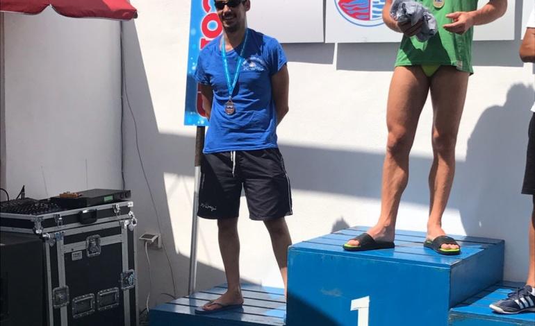Ancora a podio il colleferrino Giuliano Scafonidel Centro Nuoto Anagni: bronzo nei Campionati Regionali Master in acque libere