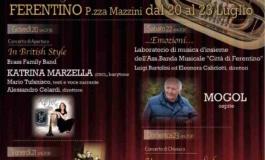 """Ferentino: al via la XII edizione di """"Fiati in Concerto"""" dal 20 al 23 luglio"""
