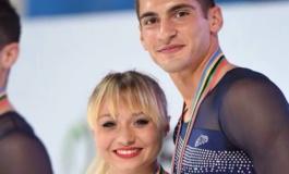 Frascati Skating Club, Lucaroni ancora tricolore in coppia con la Tarlazzi