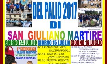 Sora, palio di San Giuliano Martire 2017: ai nastri di partenza la terza edizione