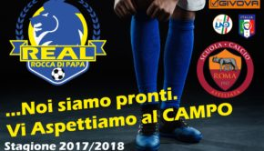 Il Real Rocca di Papa entra tra le Scuole Calcio Affiliate As Roma