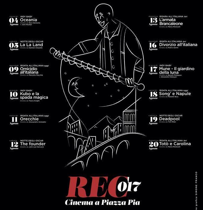 albano laziale cinema all'aperto 2017
