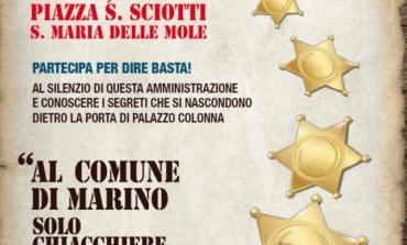Marino, Costruiamo il decentramento e Forza Italia in piazza a Santa Maria delle Mole dopo un anno di governo M5S