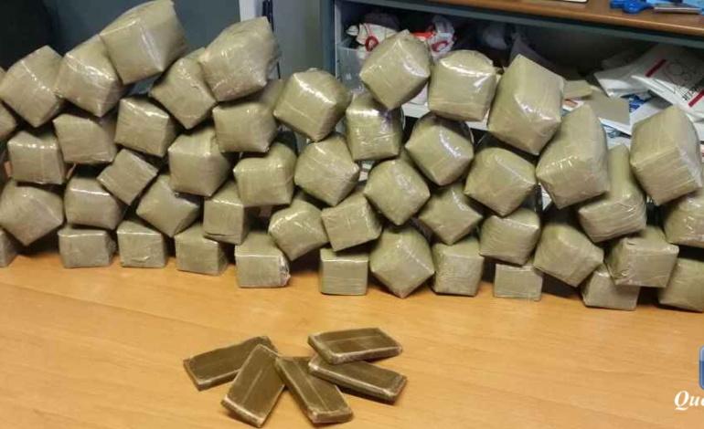 Roma, Tufello, maxi sequestro di droga da parte della Polizia: trovati 32 kg di hashish dentro un'auto (FOTO e VIDEO)