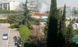 Romanina, incendi sul GRA: vigili del fuoco a lavoro per domare le fiamme