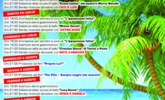 Estate 2017: il programma degli eventi a Cecchina e Pavona