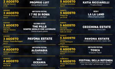 Albano d'Estate 2017: gli eventi della prima settimana di agosto