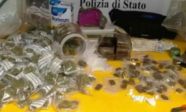 Monterotondo, pusher 27enne arrestato: in casa aveva 2 kg di droga