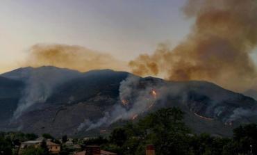 Sora, brucia Monte Sant'Angelo: incendi di natura dolosa? (FOTO)