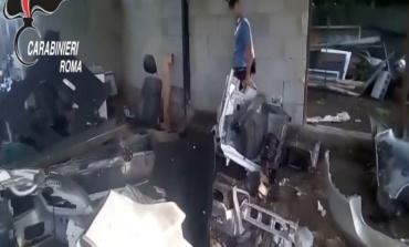 """Rubavano auto di lusso a Roma e venivano """"cannibalizzate"""" ai Castelli Romani: 3 arresti (FOTO e VIDEO)"""