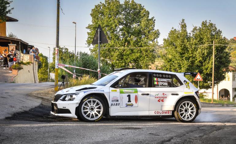 Giannetti dominatore assoluto: il IV Rally della Ciociaria è suo