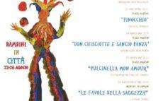 """""""Ferentino in Fiaba"""", dal 22 al 26 agosto la Festa del teatro ragazzi e del teatro fantasy"""