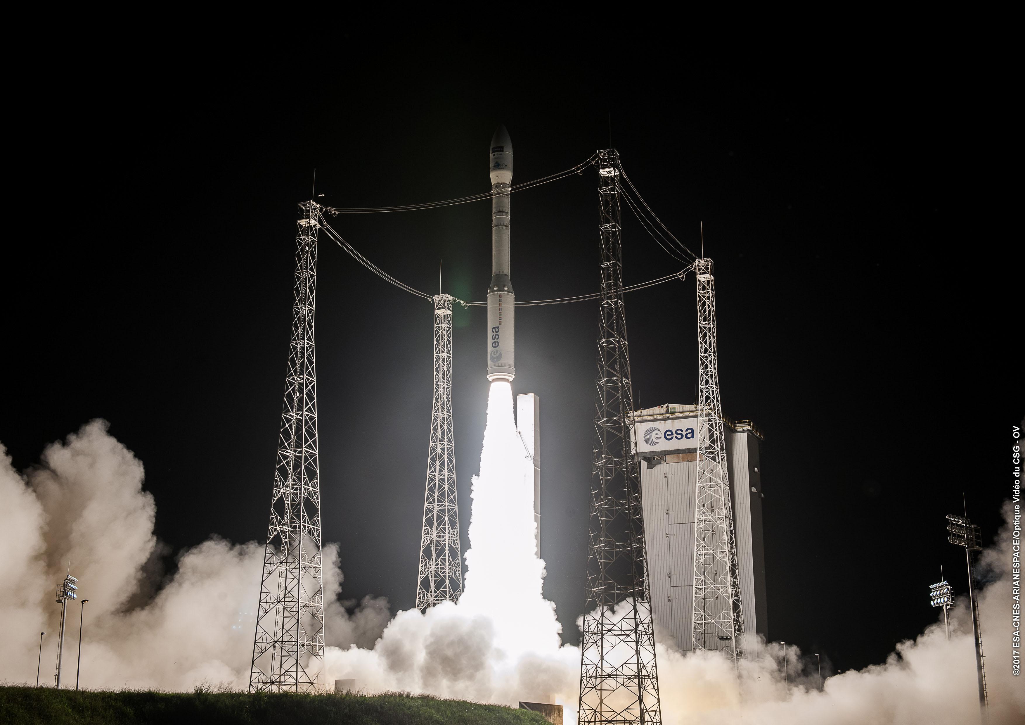 Fallisce il lancio del razzo Vega: anomalia a due minuti dal decollo
