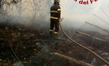 Agosto di fuoco: solo oggi 120 interventi dei Vigili del Fuoco per domare gli incendi in tutto il Lazio