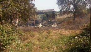 incendio a Castelliri