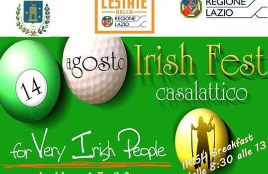 Casalettico, Irish Fest 2017: tutto pronto per la nuova edizione della tradizionale festa italo-irlandese
