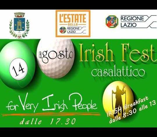 Casalattico, Irish Fest 2017: tutto pronto per la nuova edizione della tradizionale festa italo-irlandese