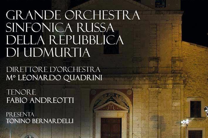 Frosinone, a piazza Risorgimento la grande Orchestra Sinfonica Russa