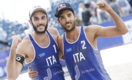 """Fiumicino, beach volley: impresa Lupo-Nicolai. Montino: """"Terza volta sul tetto d'Europa"""""""