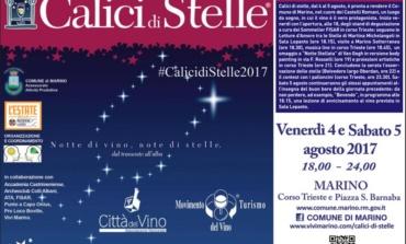 Marino, al via Calici di Stelle 2017: venerdì 4 e sabato 5 agosto
