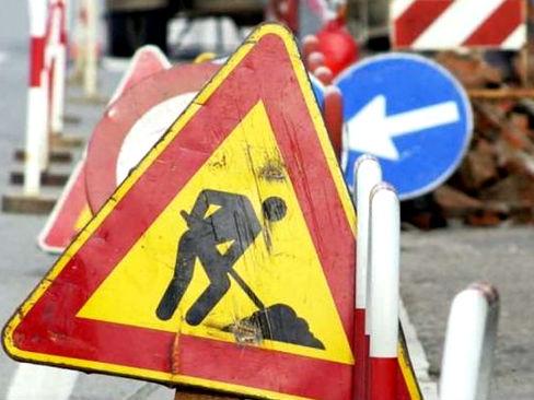 Tivoli lavori stradali via Tiburto