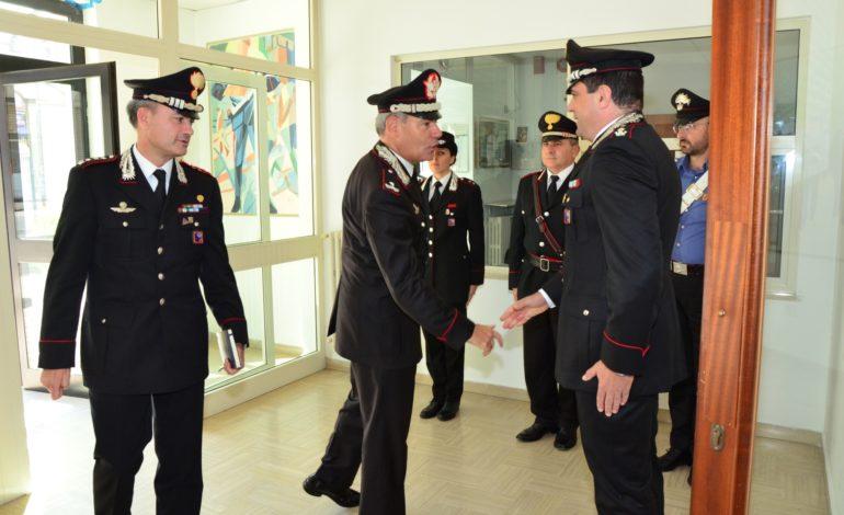 Pontecorvo, il Comandante della Legione Carabinieri Lazio in visita al Comando