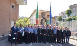 Anagni, il Comandante della Legione Carabinieri Lazio, Generale di Brigata Andrea Rispoli, visita la Compagnia locale