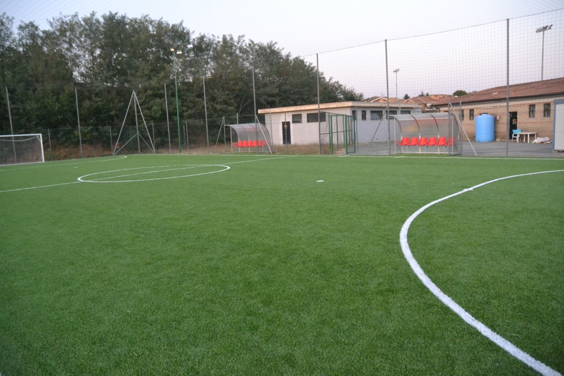"""Città di Valmontone calcio, Benini: """"Pronto il nuovo campo di calcio a 5 per i più piccoli"""""""