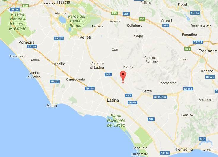 Terremoto Sermoneta oggi 28 settembre 2017: scossa avvertita a Latina e dintorni