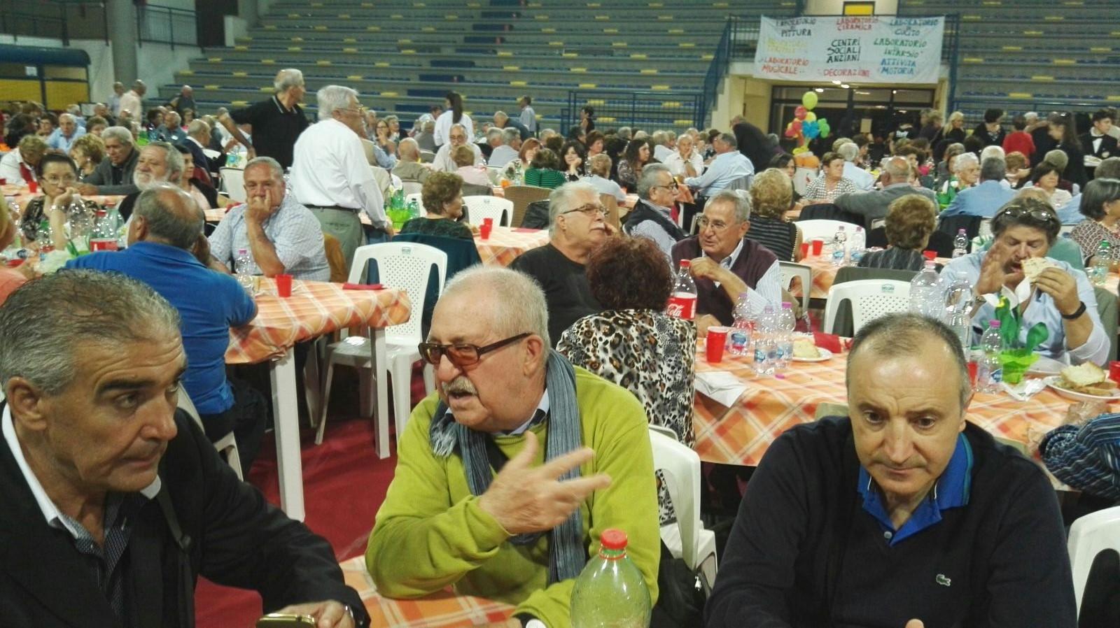 Frosinone: grande successo per l'edizione 2017 della Festa dei Nonni