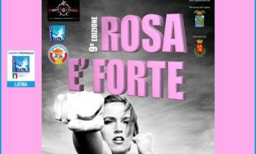 """Cori, al via la nona edizione del corso gratuito di autodifesa """"Rosa è Forte"""""""